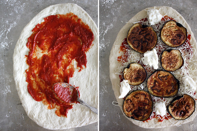 no-knead pizza dough // Girl Versus Dough