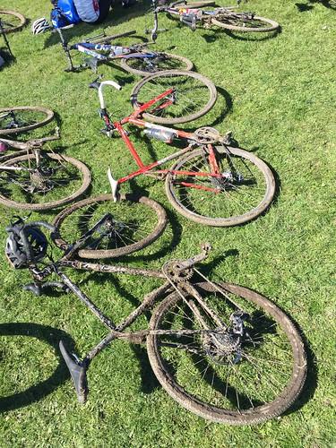 Auckland City Cyclocross prizegiving Puhinui Park 11/9/16