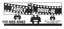 Family Drive In Theater Winchester VA