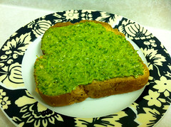 Italian Parsley Pesto On Toast