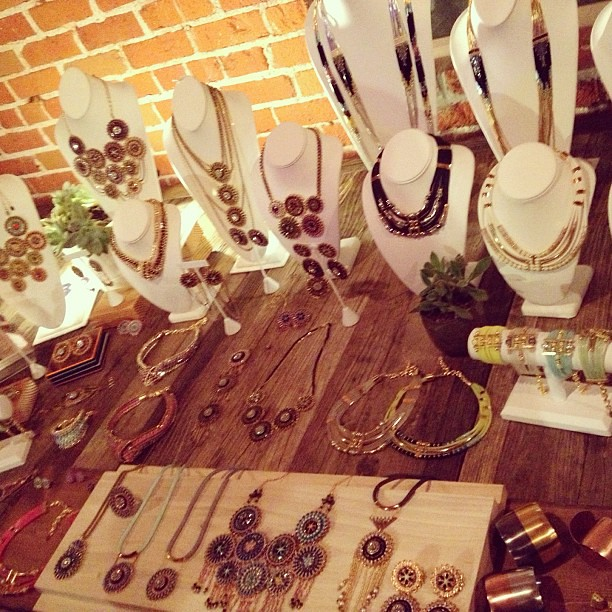 Such gorgeous jewelry by @GildaGrey at the @LAFashCouncil party last night #jewelry #modern #madeinLA
