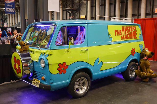 The Mystery Machine - Scooby-Doo
