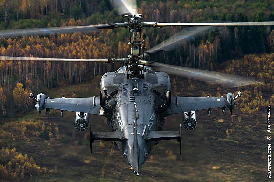 Ka-52 flight