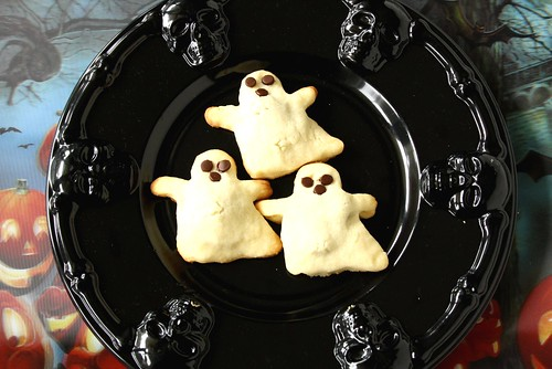Halloween Boo Berry Cookies