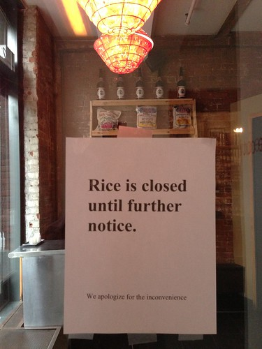 Rice Dumbo closed