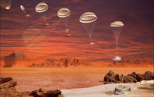 Come la Huygen atterrò su Titano