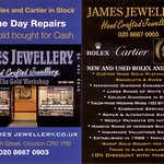 James Jewellery Flyer October 2012