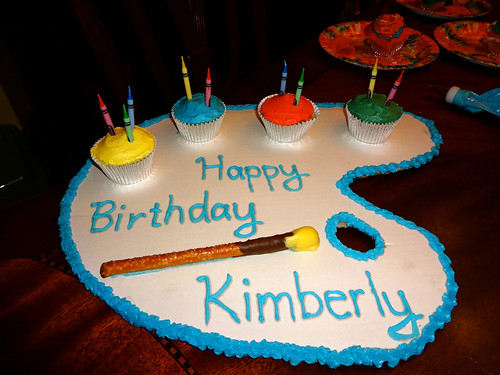 Kimberly's 9th Birthday cake