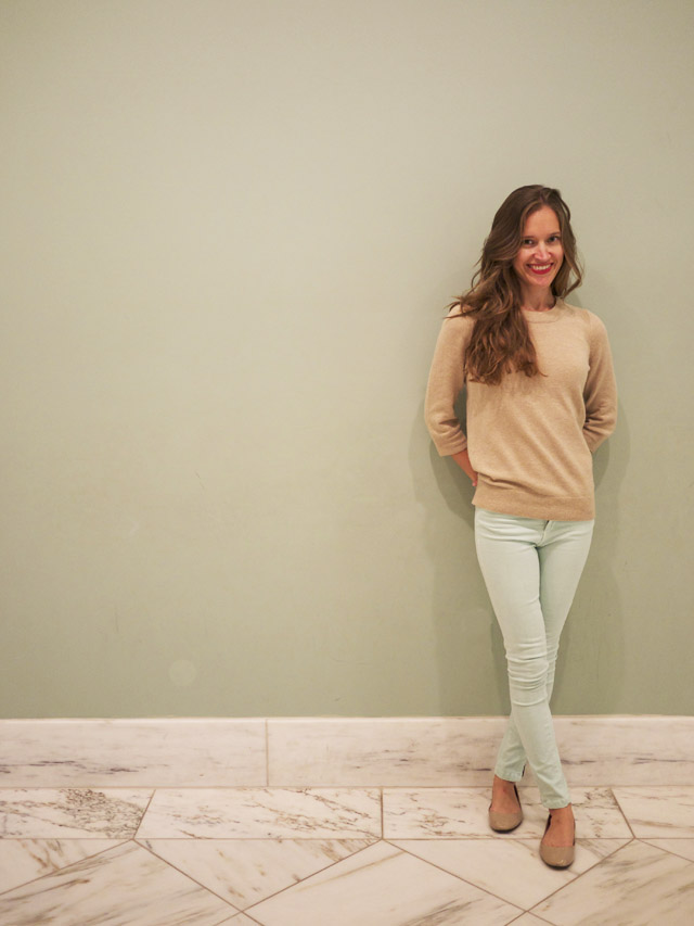 my fair vanity, fashion blog, OOTD, mint color mood, fall transitions
