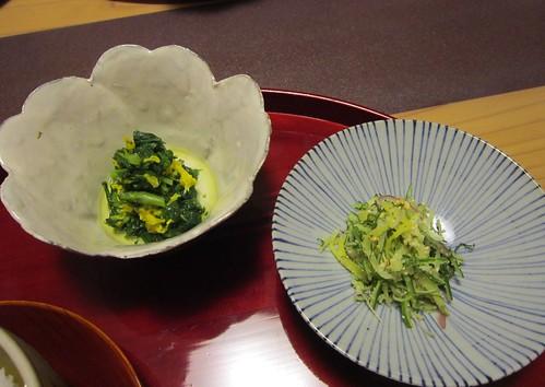 お新香とおひたし 2012年10月10日 by Poran111