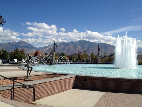 South Jordan fountain