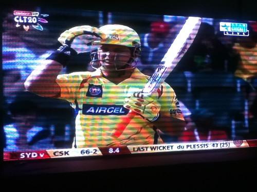 Cricket! SYD v CSK