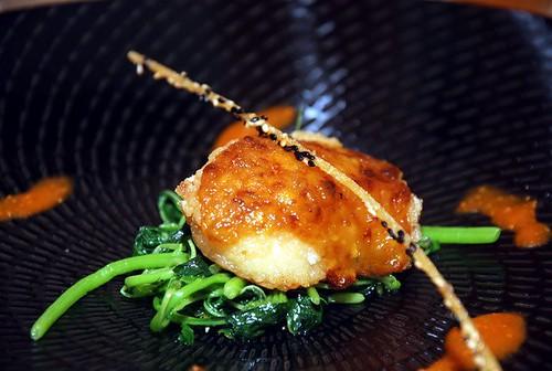 Oktoberfest Baked Cod Fish with Garlic Crust