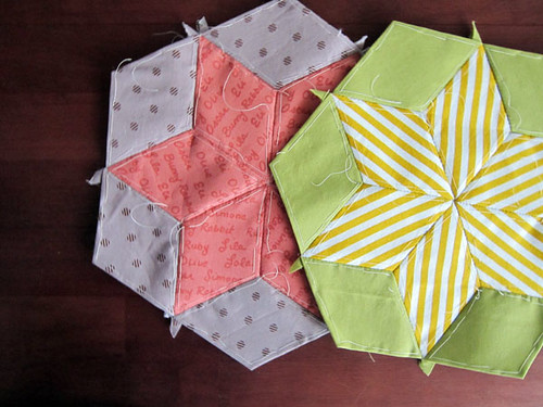 English paper piecing bloghop!