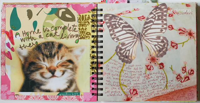 Smart Journal #1 Smiling kitty