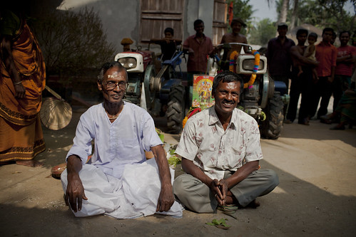 A Brahmin priest and farmer in Bangladesh