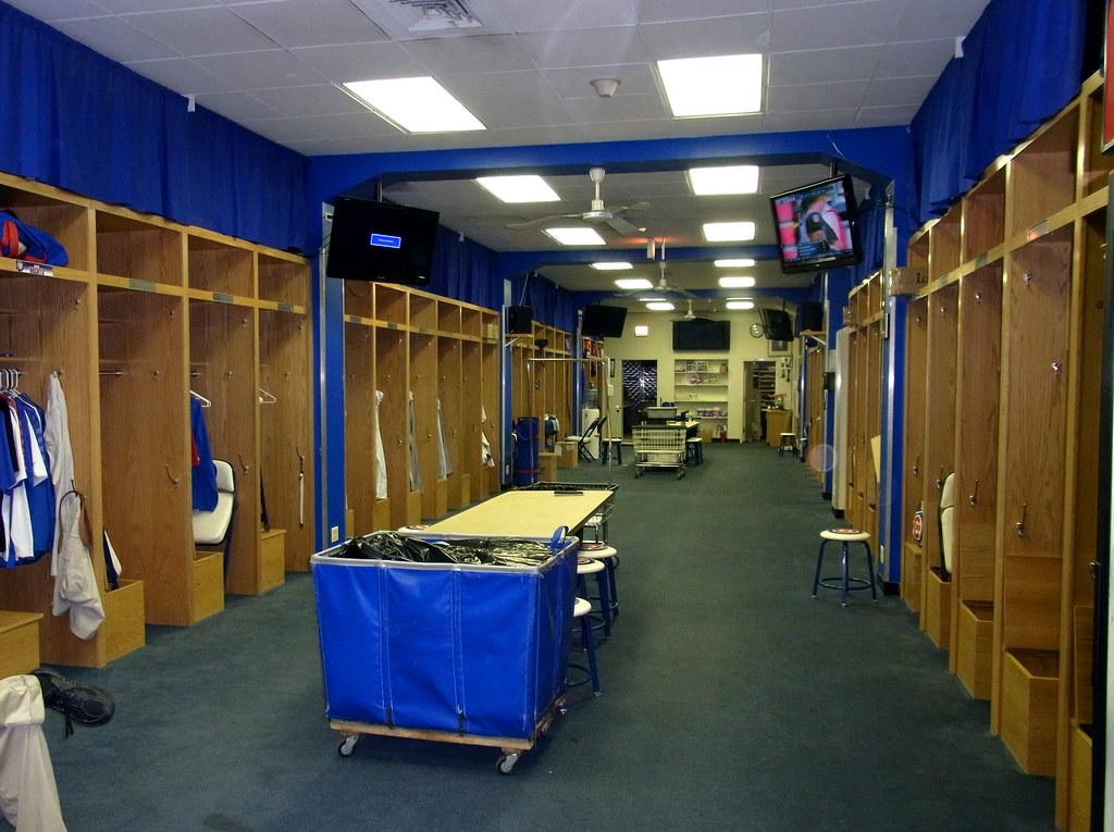 Wrigley Field Locker Room