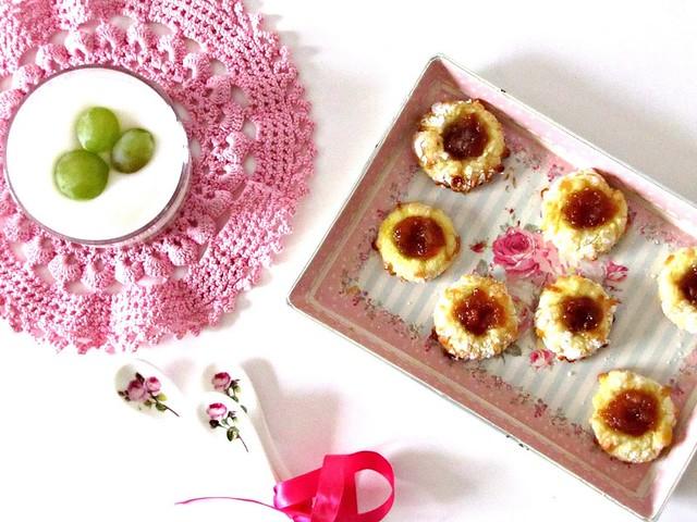 Biscotti di Pasta Reale agli Agrumi e Sgroppino alla Vodka con frutta fresca brinata