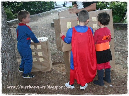 Actividades Kit de fiesta spiderman. Merbo events
