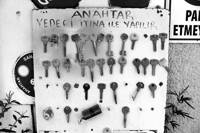 House keys in Istanbul