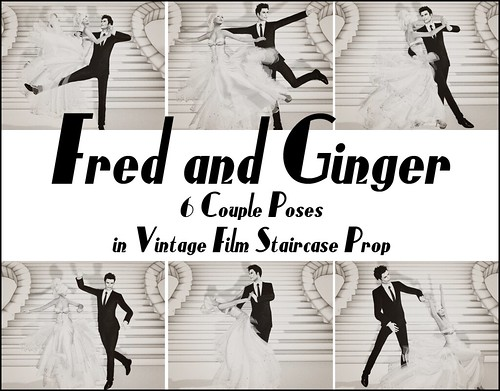 Frozen Panty POSES: Fred and Ginger
