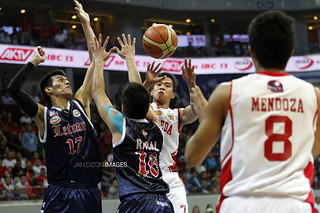 NCAA Season 88 Finals Game 1: San Beda Red Lions vs. Letran Knights, Oct 18