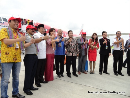 AirAsia Celebrated its Inaugural Flight to Lombok Indonesia