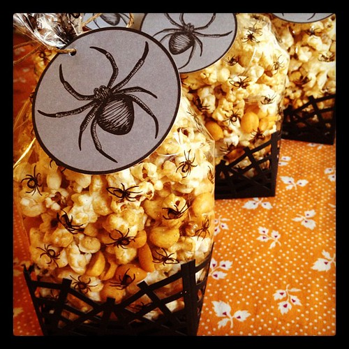 Spicy Coconut Kettle Corn for tomorrow's #veganbakesale at @ccvegan! 2-5pm!