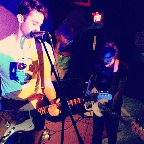 @mrdreamnyc playing @paperboxnyc #eisgtcmj2012 #cmj2012 #godmode