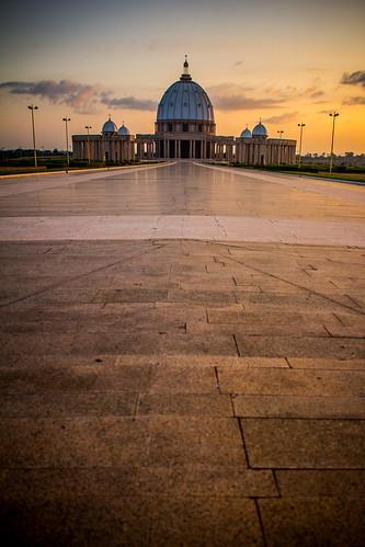 africa basilica westafrica cotedivoire ivorycoast yamoussoukro