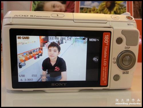 Interchangeable Lens Camera Promotion by SenQ - Sony NEX-F3K