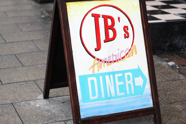 JB's American diner Brighton where to eat