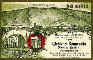 1973 - Wehlener Sonnenuhr (Mosel)