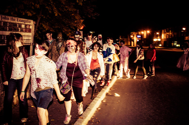 Corner Brook Zombie Walk - 36