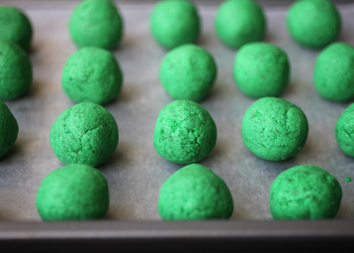 Green Cake Balls