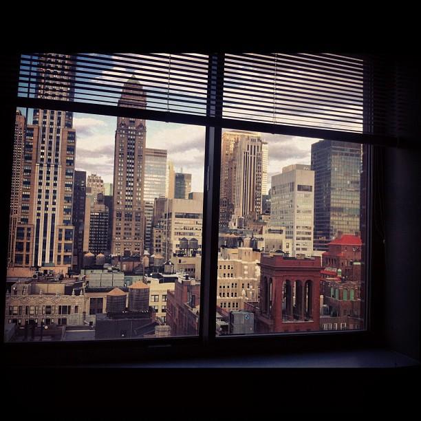 Вид из окна на этот раз.. NYC, Manhattan