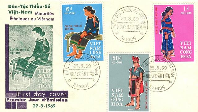 1969 FDC Dân tộc Thiểu số Việt Nam