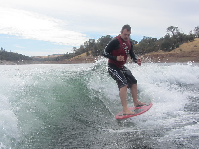 Late October wakesurfing 166
