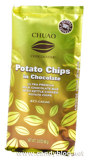 Chuao Potato Chips in Chocolate 41% Cacao