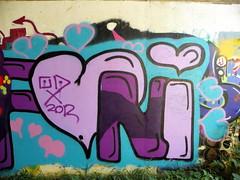 GOC Bengeo to Woodhall Park 241: Graffiti