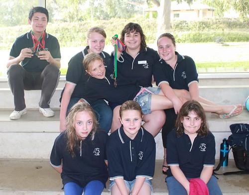 Cardinia Piranhas swimmers