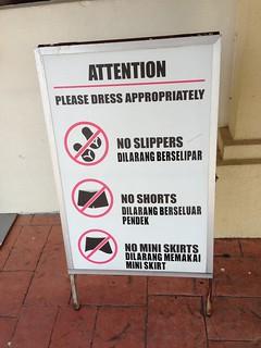 Putrajaya dress code