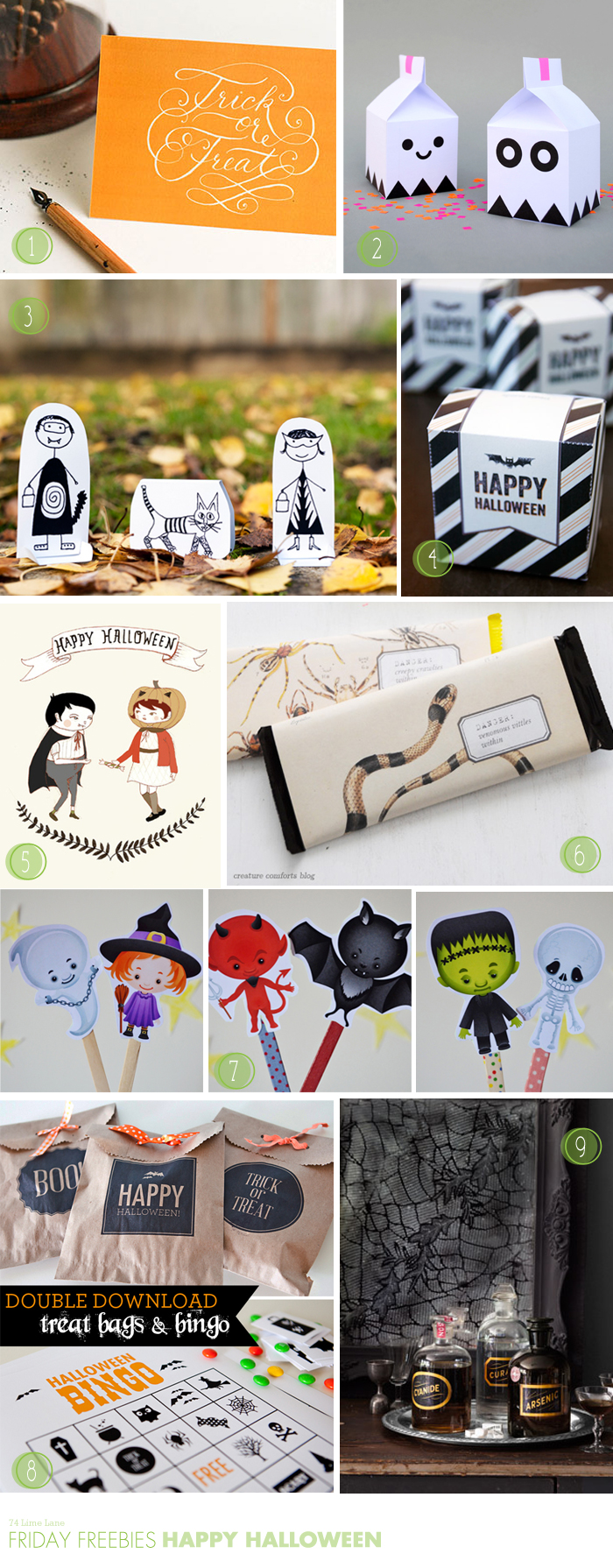 {friday freebies} happy halloween