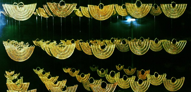 Gold museum, Cartagena, Colombia