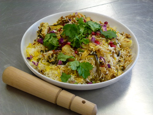 Shahi Green Vegetable Biryani