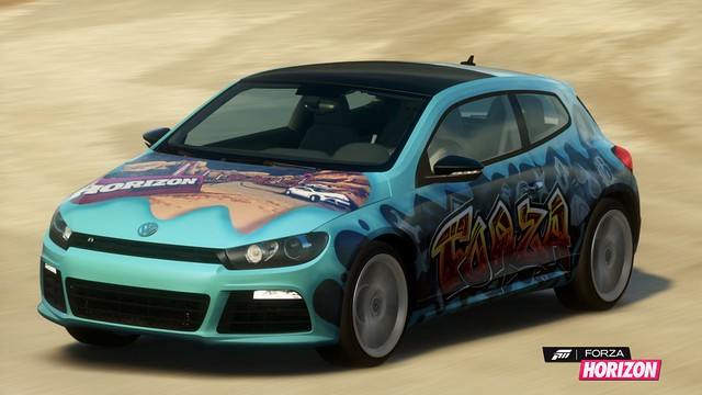 2011 Volkswagen Scirocco R with LCE Livery