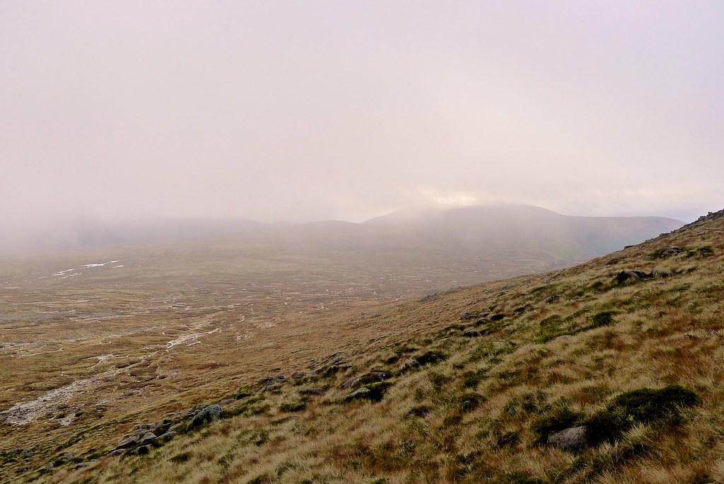 Mist over the Moine Bhealaidh