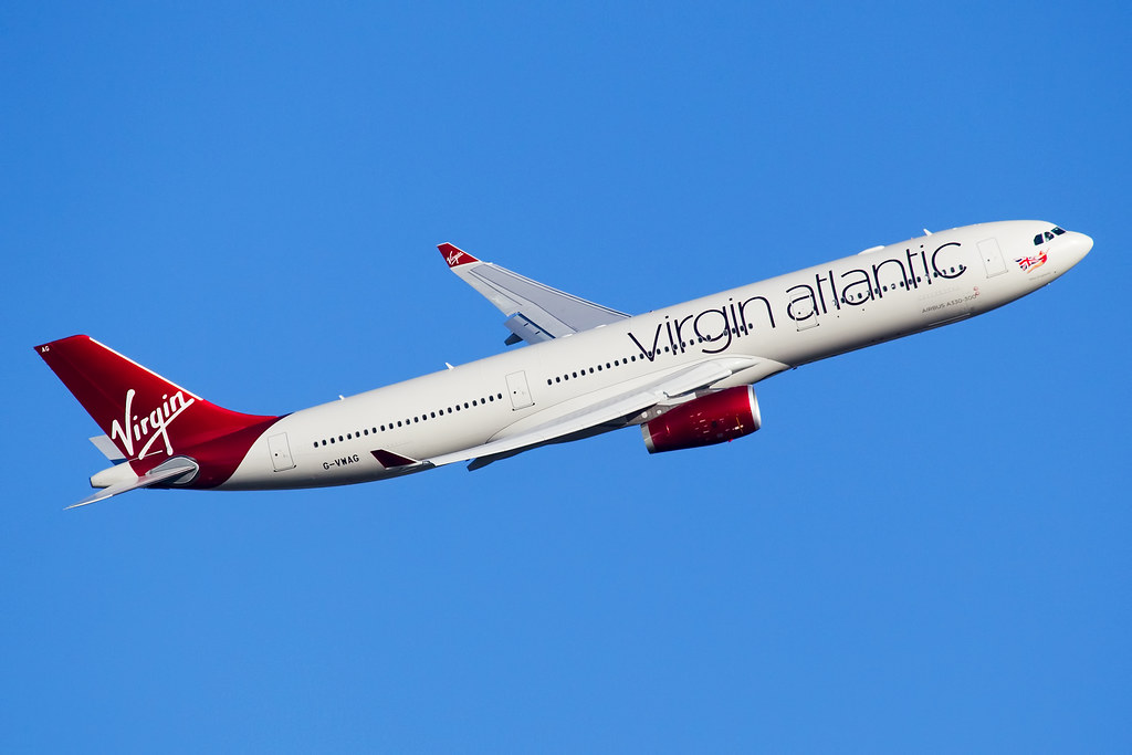 Vwag virgin atlantic airbus a330 300 by darryl morrell