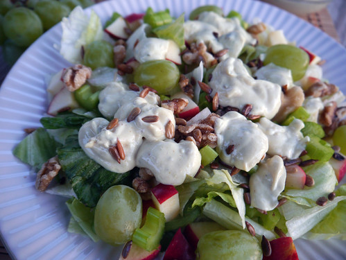 'Jalapeno Face' Spicy Waldorf Salad for Iron Chef (0036)