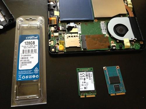 新旧SSD